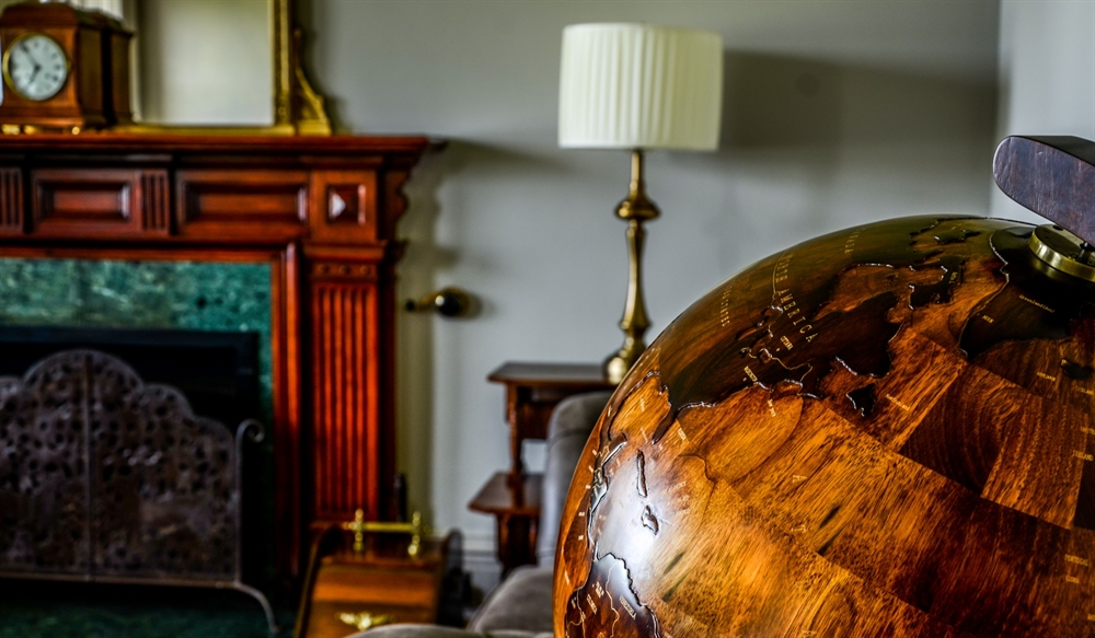 Globe in the Lounge