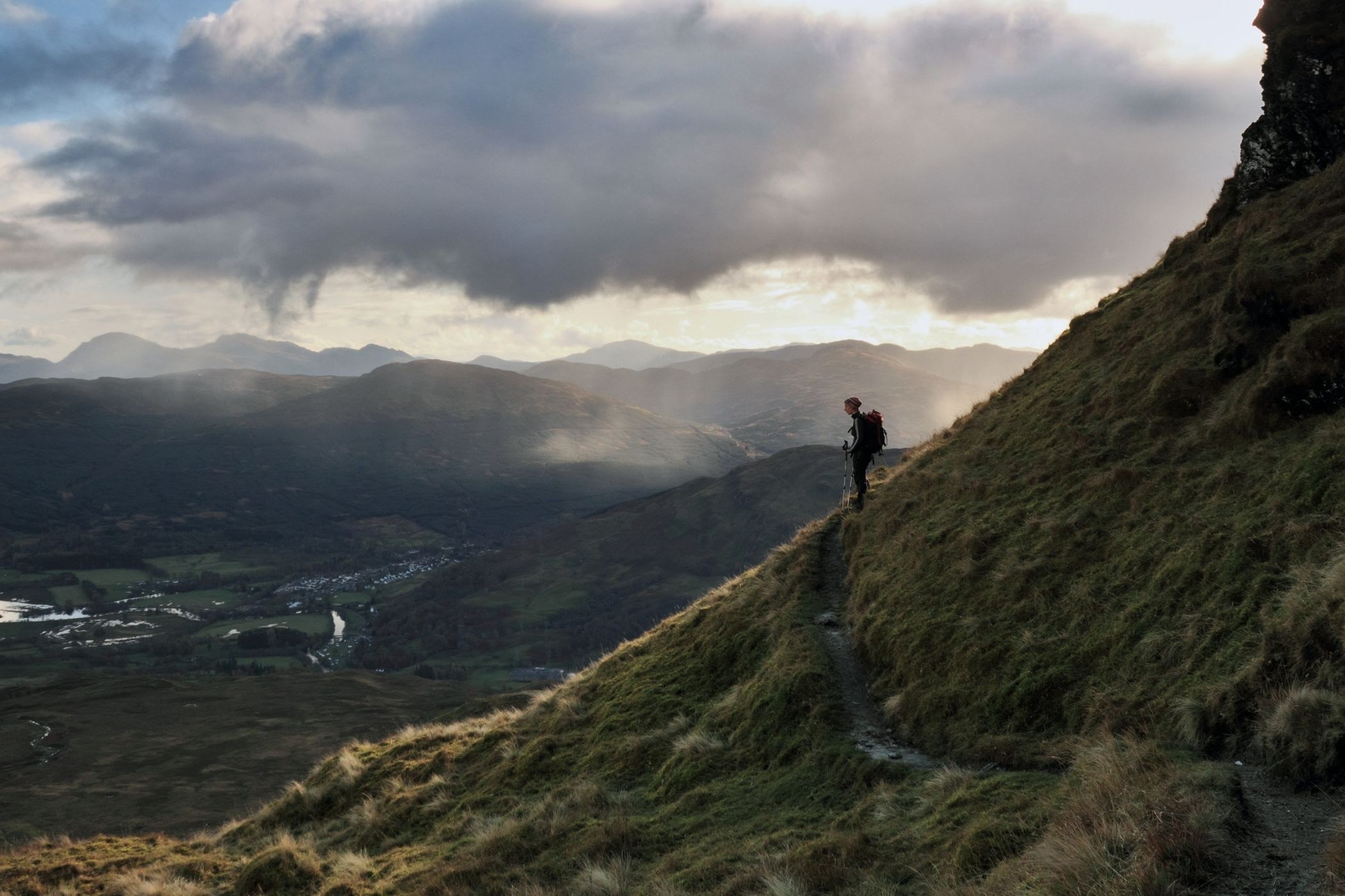 Waling and Hiking in the Scottish Highlands