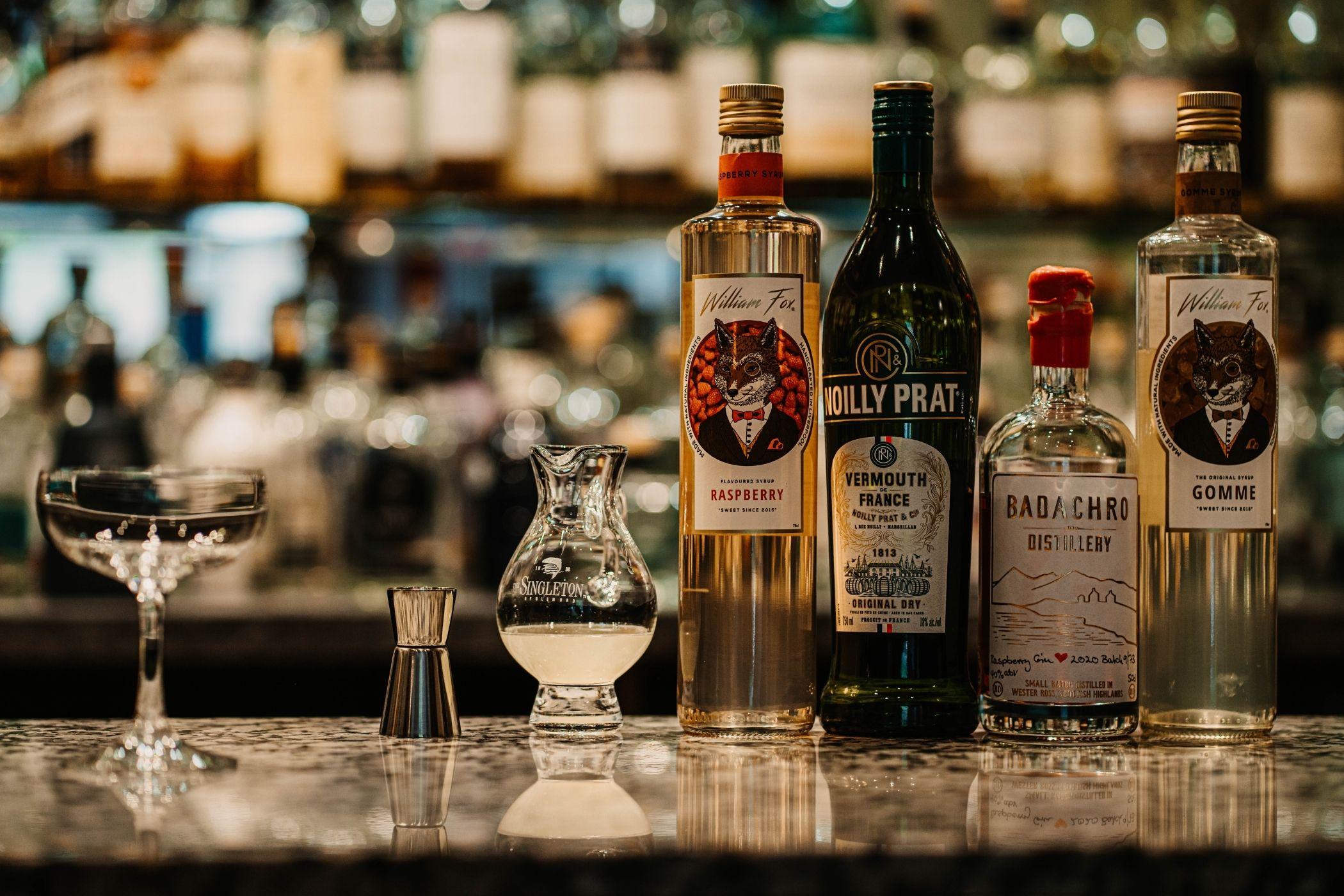 Shieldaig Lodge bar