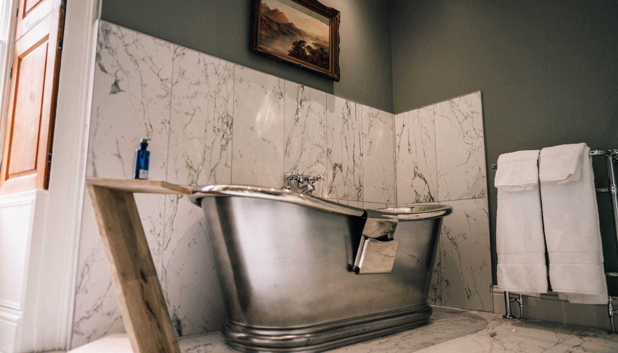 Brimside - Roll-Top Copper Bath