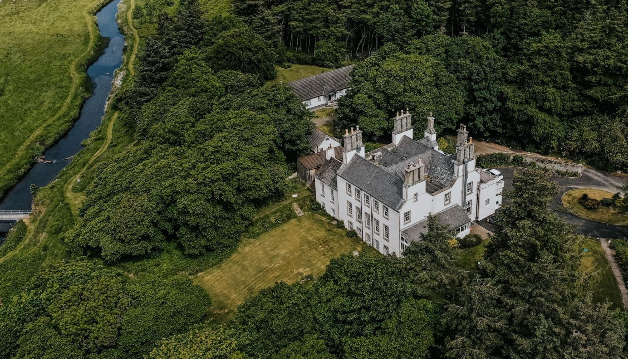 18th Century Highland Retreat in the North Highlands
