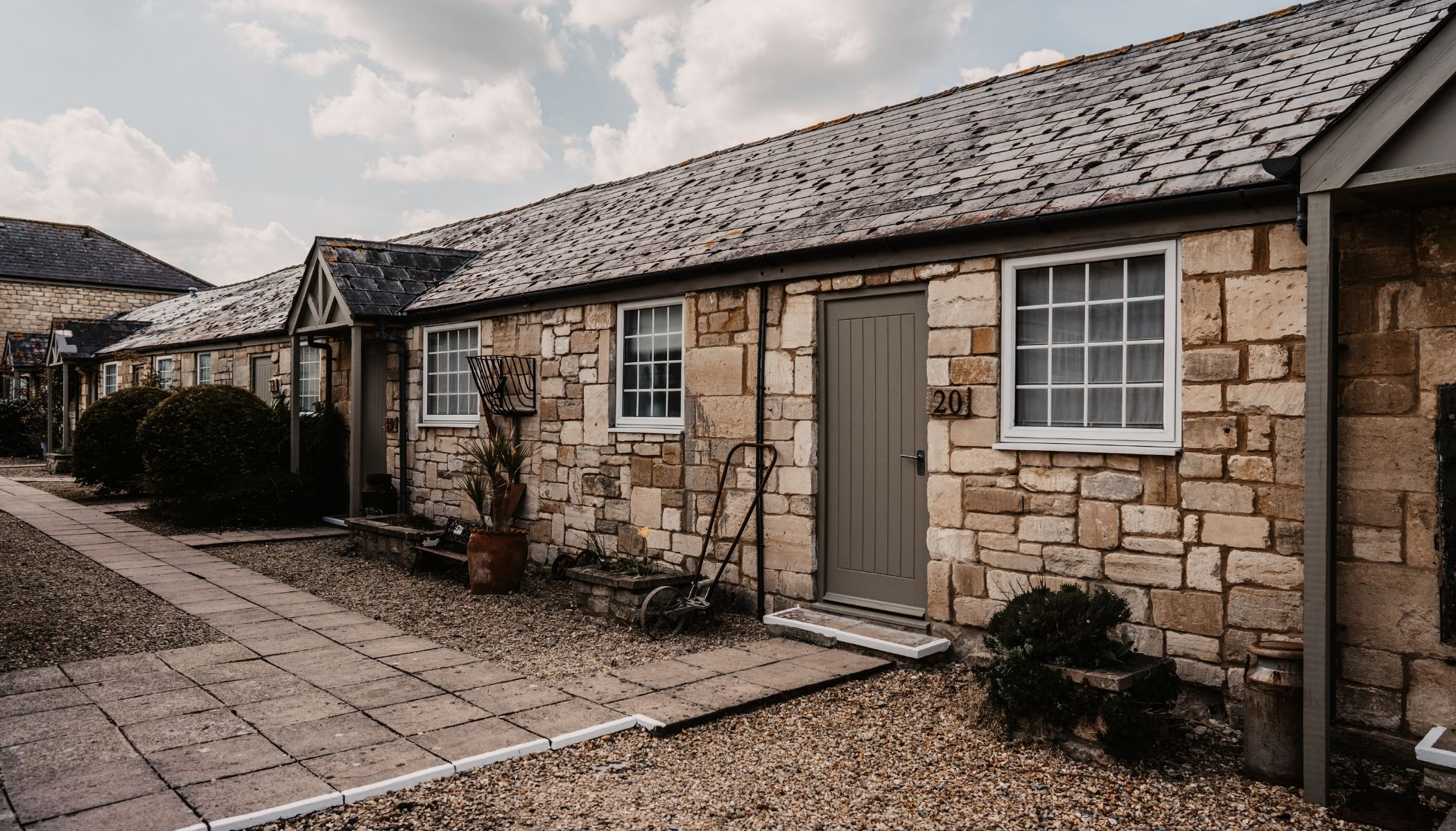 Converted stable block