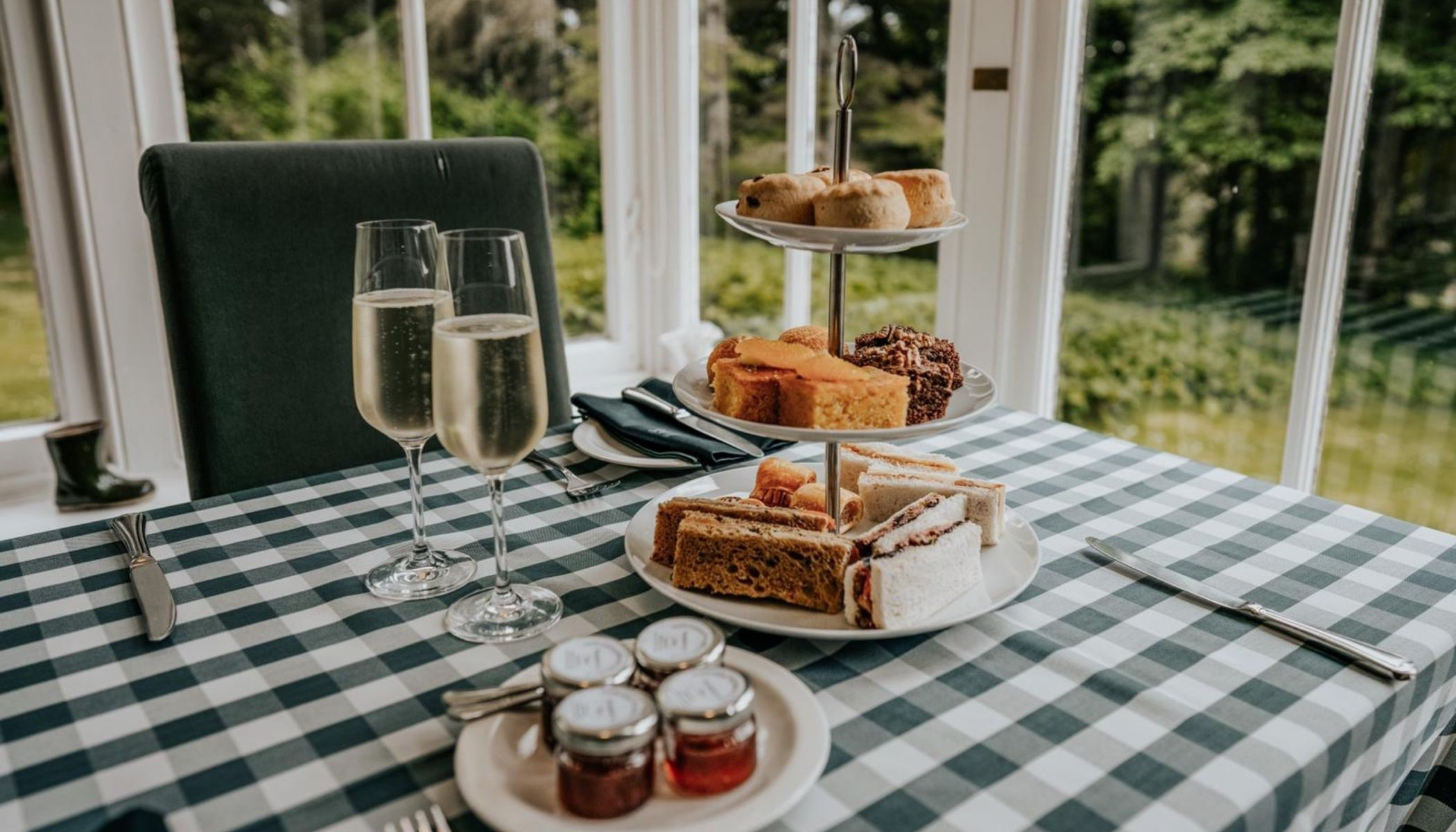 Afternoon Tea at Forss House