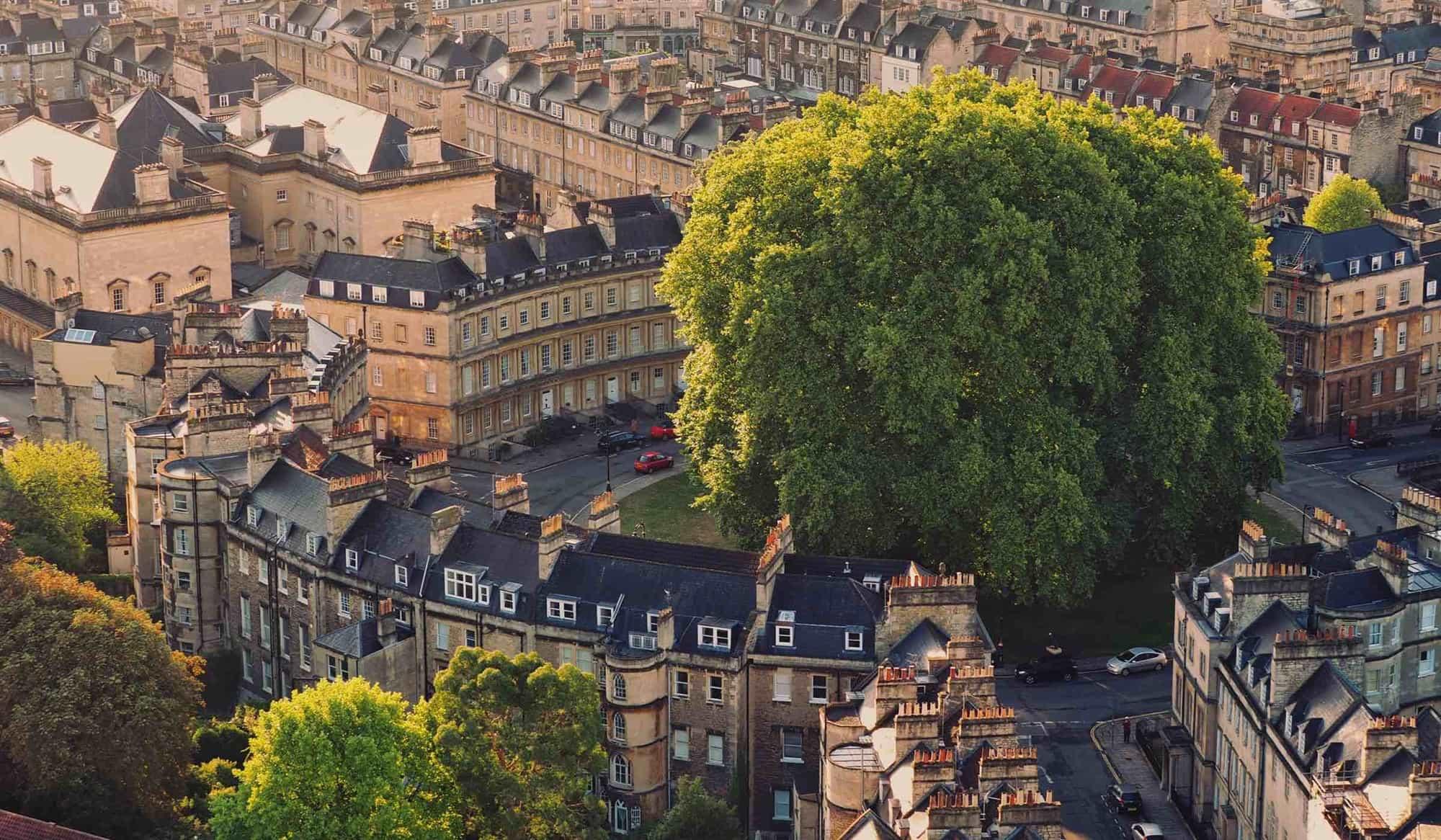 The Georgian splendour of Bath