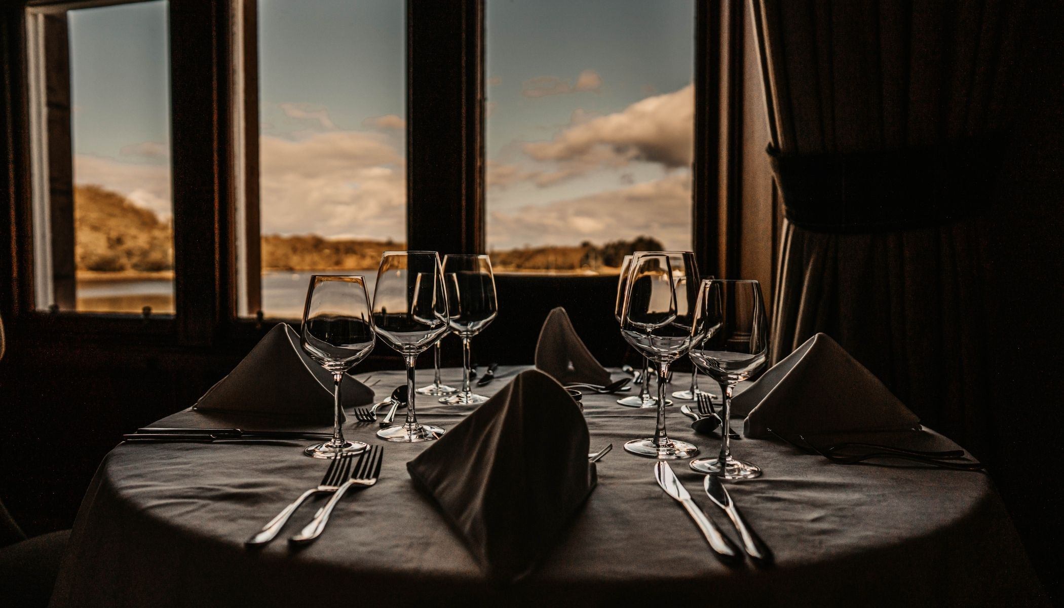Book a table at Shieldaig Lodge