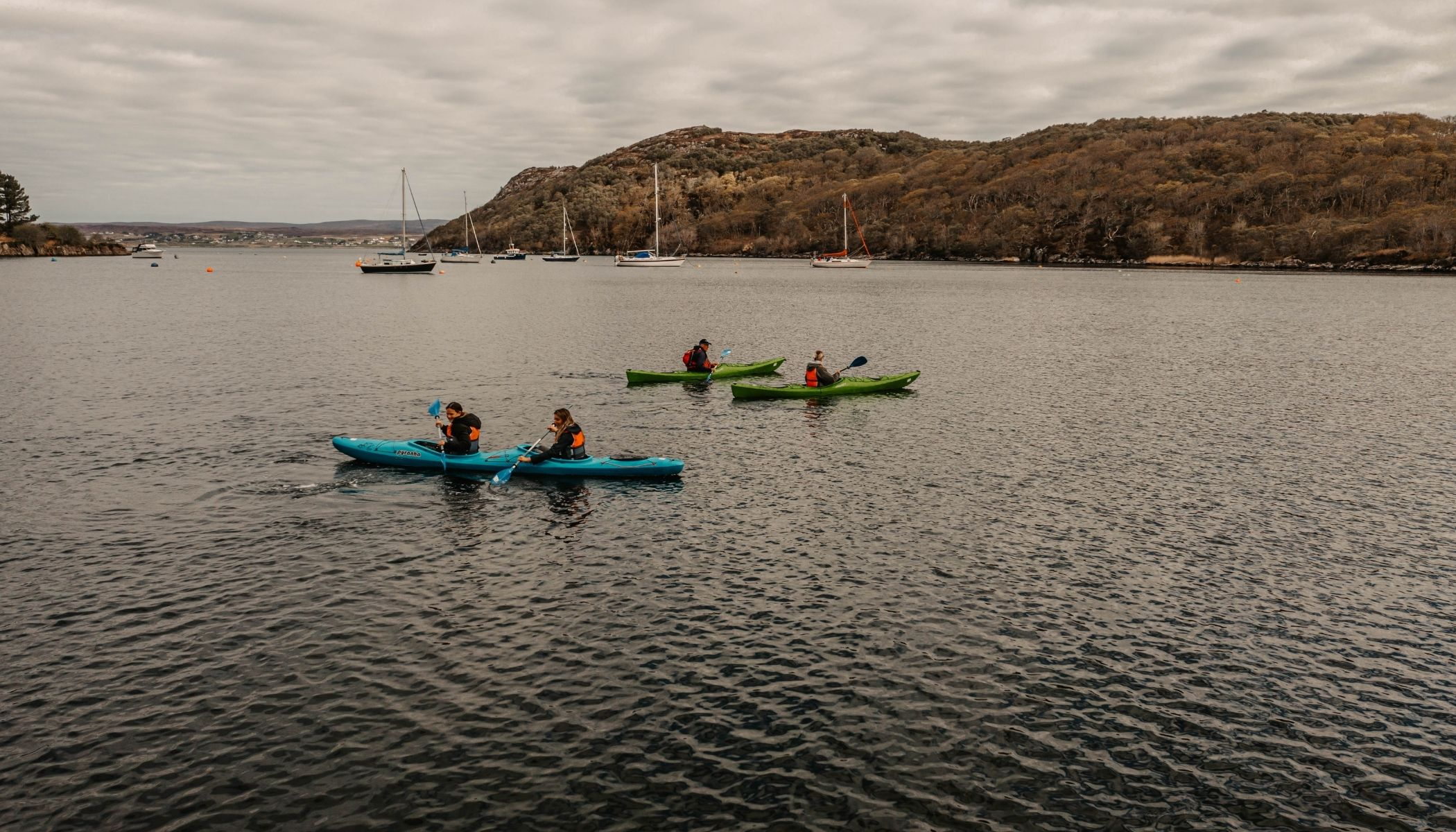 Kayaking on the Loch