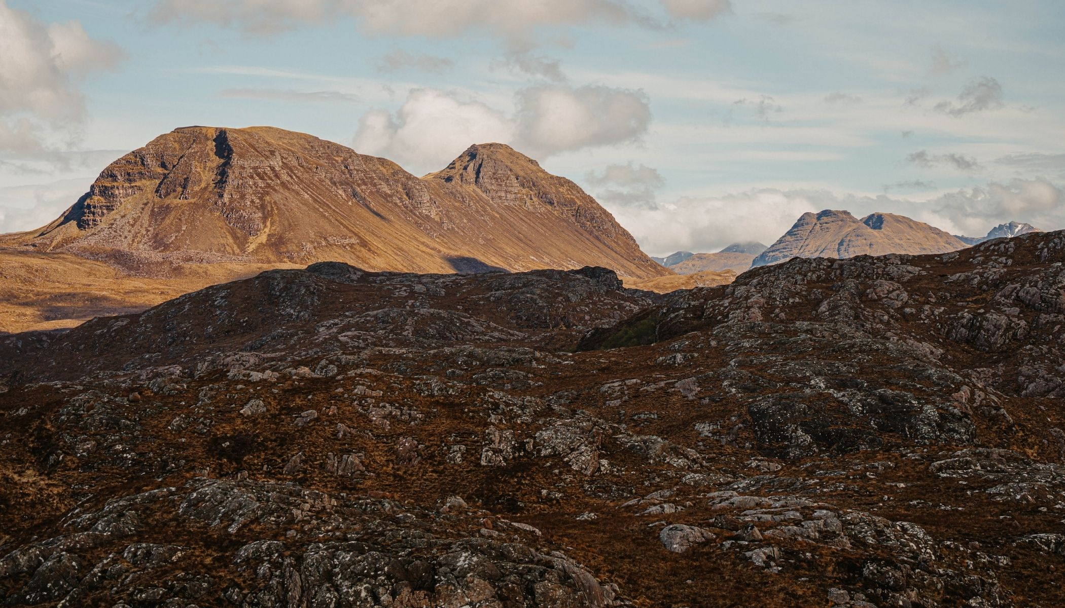 Walking and hiking in the munros