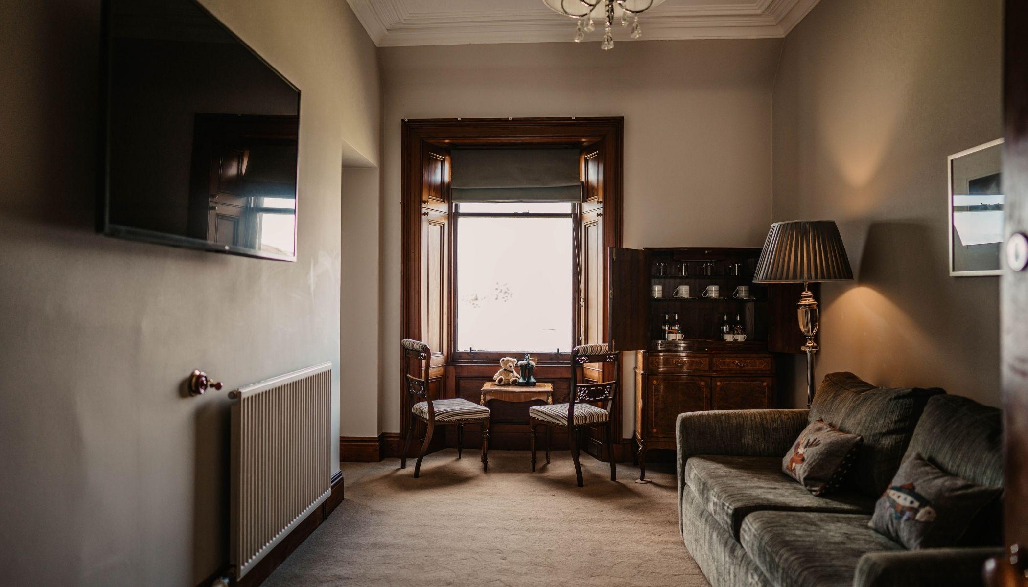 Suite Lounge Area
