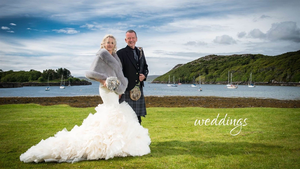 Weddings at Shieldaig Lodge