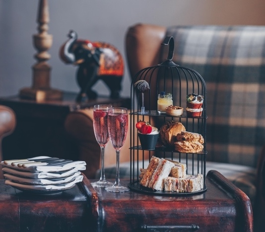 Afternoon Tea for Two with Prosecco