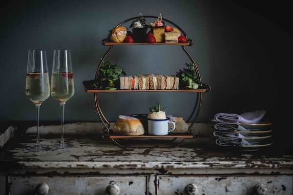 Farmhouse Afternoon Tea with Prosecco for Four